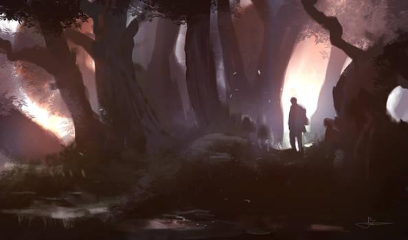 Ancientwoods Speedpainting