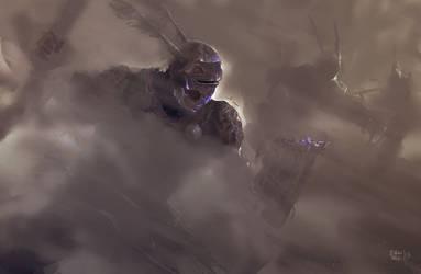Ornate Armor Speedpainting by erenarik