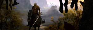 Witcher fanart by erenarik