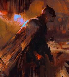 Batman by erenarik