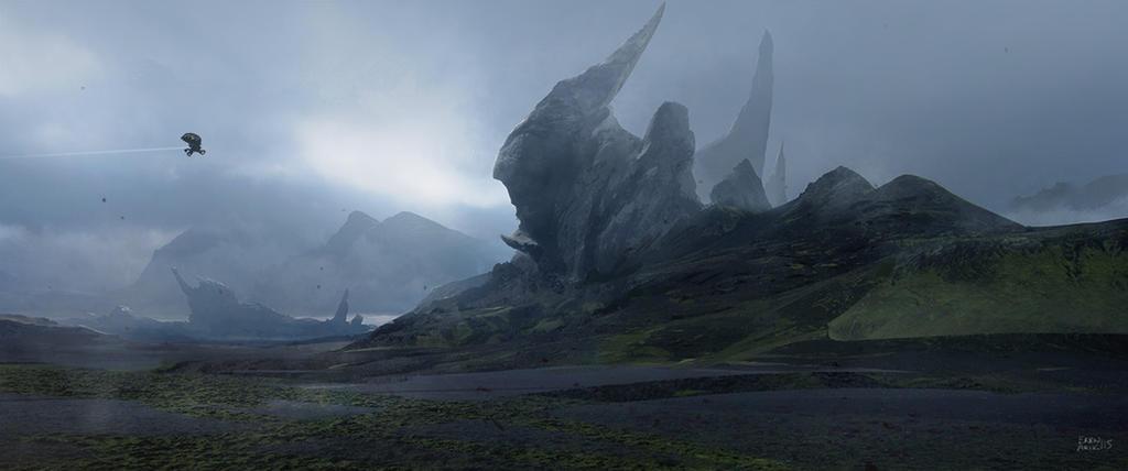Tulip Mountain by erenarik