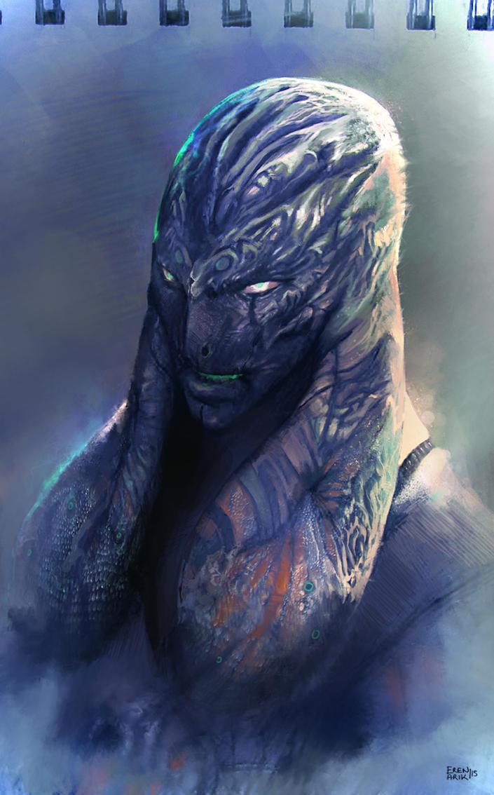 The Alpha Draconian by erenarik