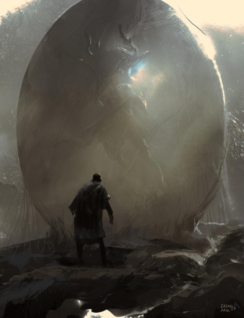 Demon Egg by erenarik