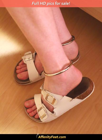 Posing Sandals