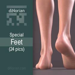 diNorian Special - Feet (24 pics)