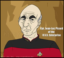 Cpt. Picard of the yadda yadda by rheall