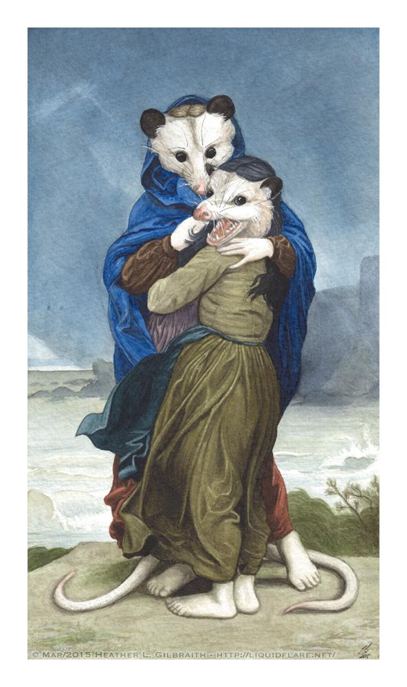 L'Opossums by rheall