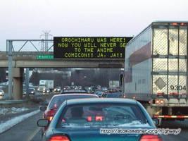 Orochimaru caused trafic- wtf