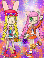 (REQUEST) Puyo Pop'n for Halloween [CROSSOVER] by JennALT-01angel