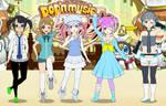 (REQUEST) Kisekae: Pisce and friends [Pop'n Music]