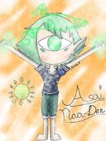 Say 'hi' to Asai! [MY OC] by JennALT-01angel