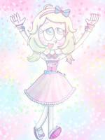 Pretty in pink Kozue [IdolMaster] by JennALT-01angel