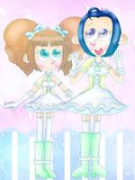 (765th DEVIATION) Pastel idols [IdolMaster] by JennALT-01angel
