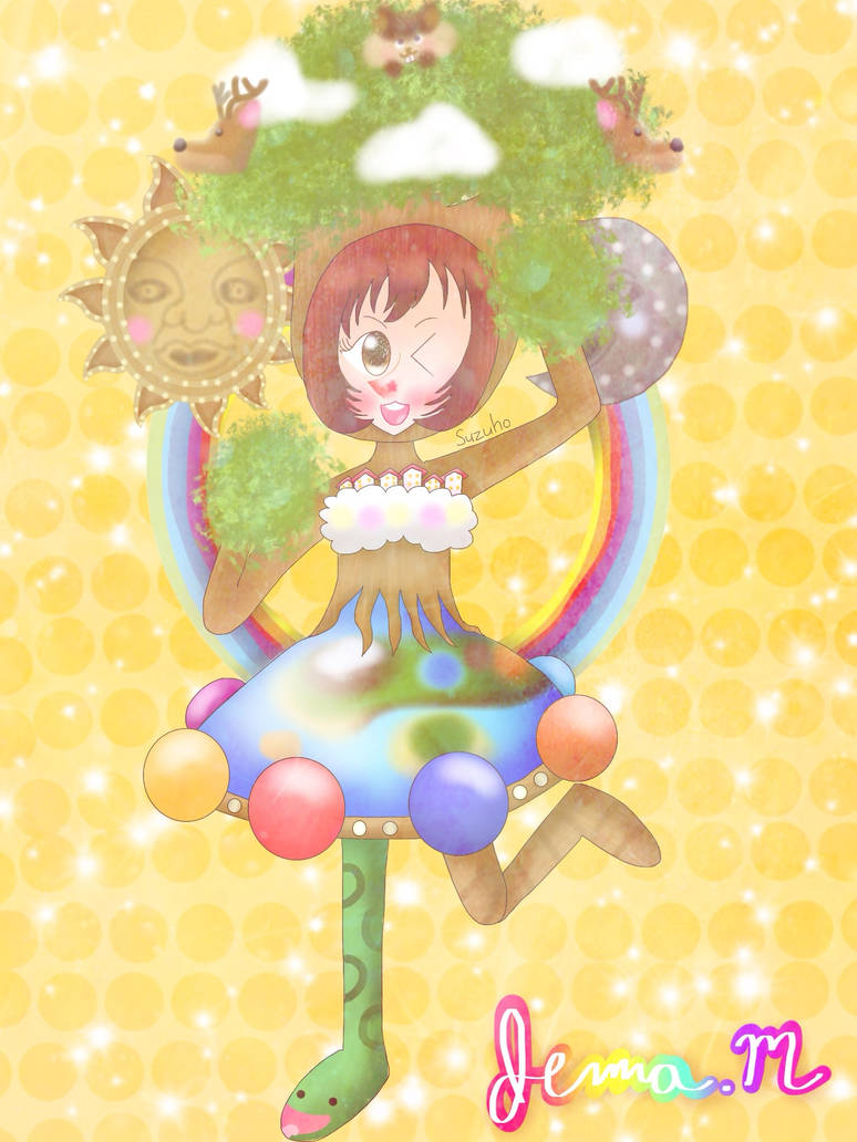Tree of life [IdolMaster] by JennALT-01angel