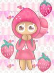 Shy Strawberry [Cookie Run]