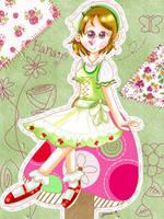 Happy Birthday, Hanayo! [Love Live] by JennALT-01angel
