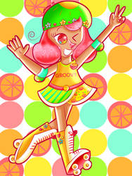 Groovy Grapefruit Girl [Cookie Run] by JennALT-01angel