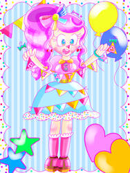 Birthday Party Queen [MY OC] by JennALT-01angel