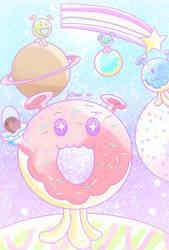 Spaced Out Doughnuts [Cookie Run]