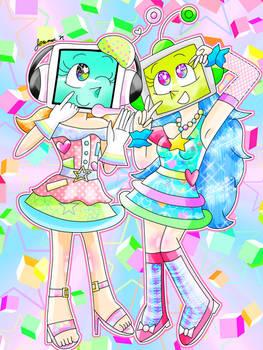 Robot Party Memories [Pop'n Music/OC]