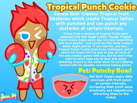 Cookie Run OC Week: Tropical Punch Cookie