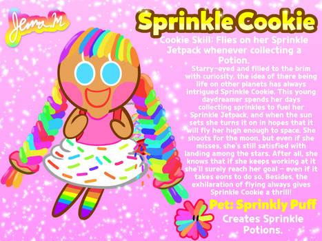 Cookie Run OC Week: Sprinkle Cookie