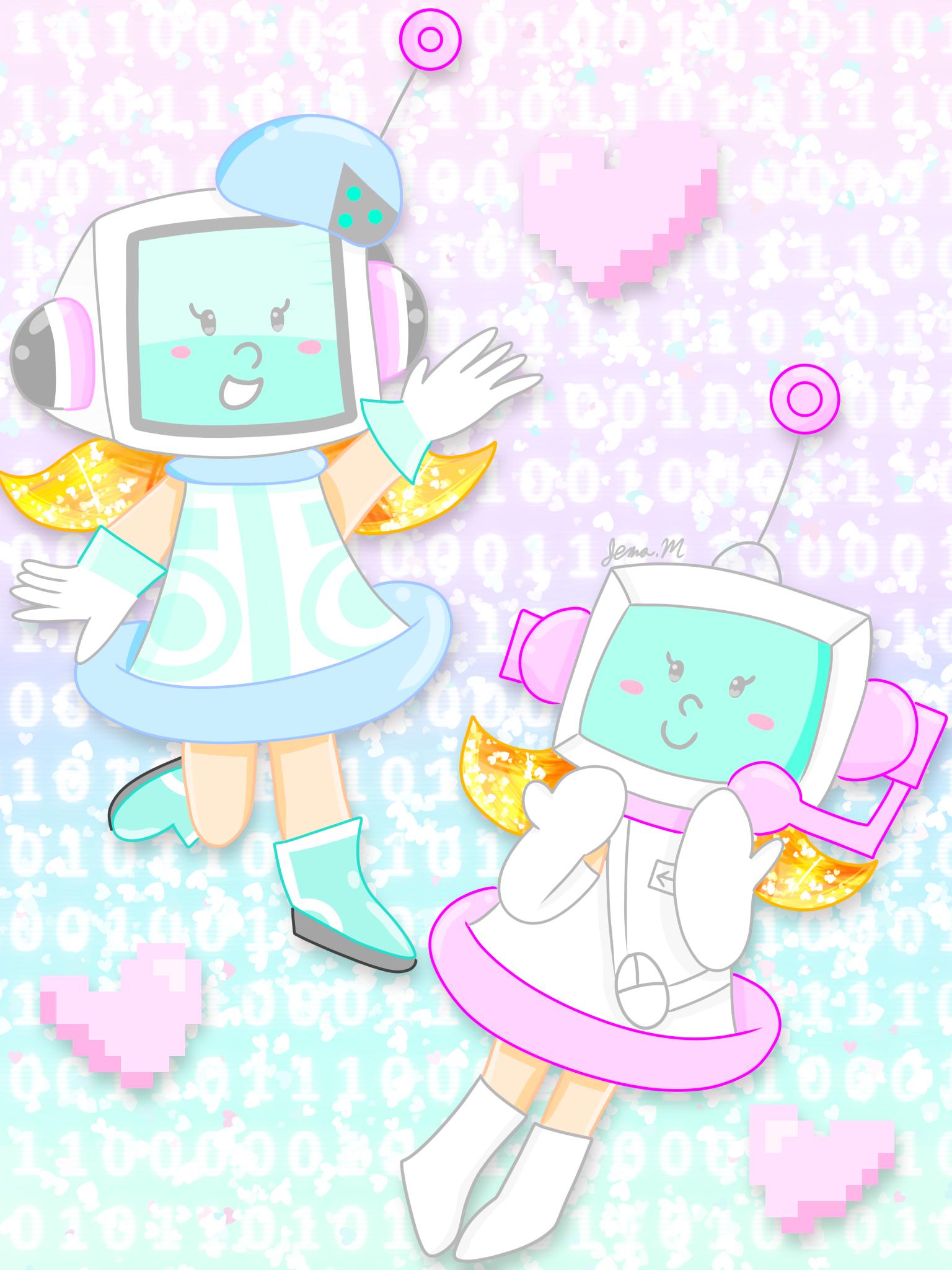Cute L'il Computers [Pop'n Music]