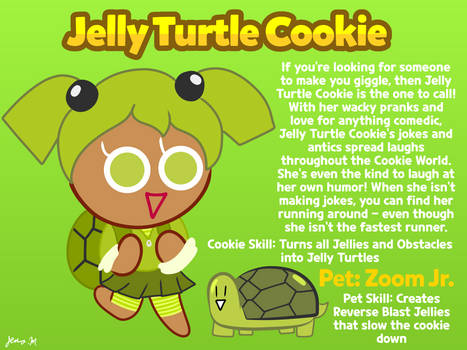 Cookie Run OC: Jelly Turtle Cookie