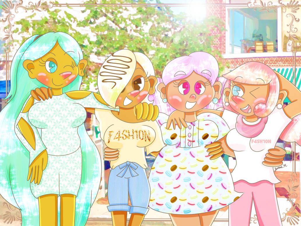 Fashionable Friends [Cookie Run]