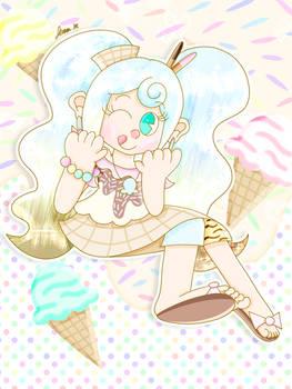 Ice Cream Sweetie [My OC]