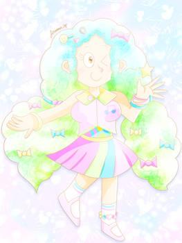 Cotton Candy Cecilia [MY OC]