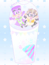 Frosty Freezy Friends [Fanboy and Chum Chum]