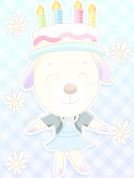 Birthday Pup [Animal Crossing]