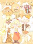 One Big Waffle Family! [Cookie Run]