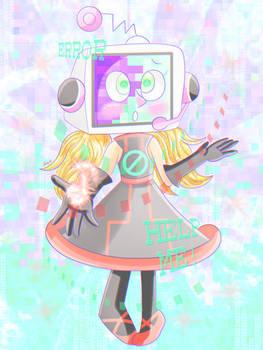 A glitch in her system [Pop'n Music]