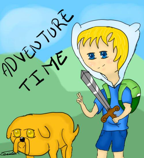 Finn y Jake by apinon
