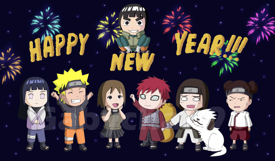 happy new year 2013 by gabychan91