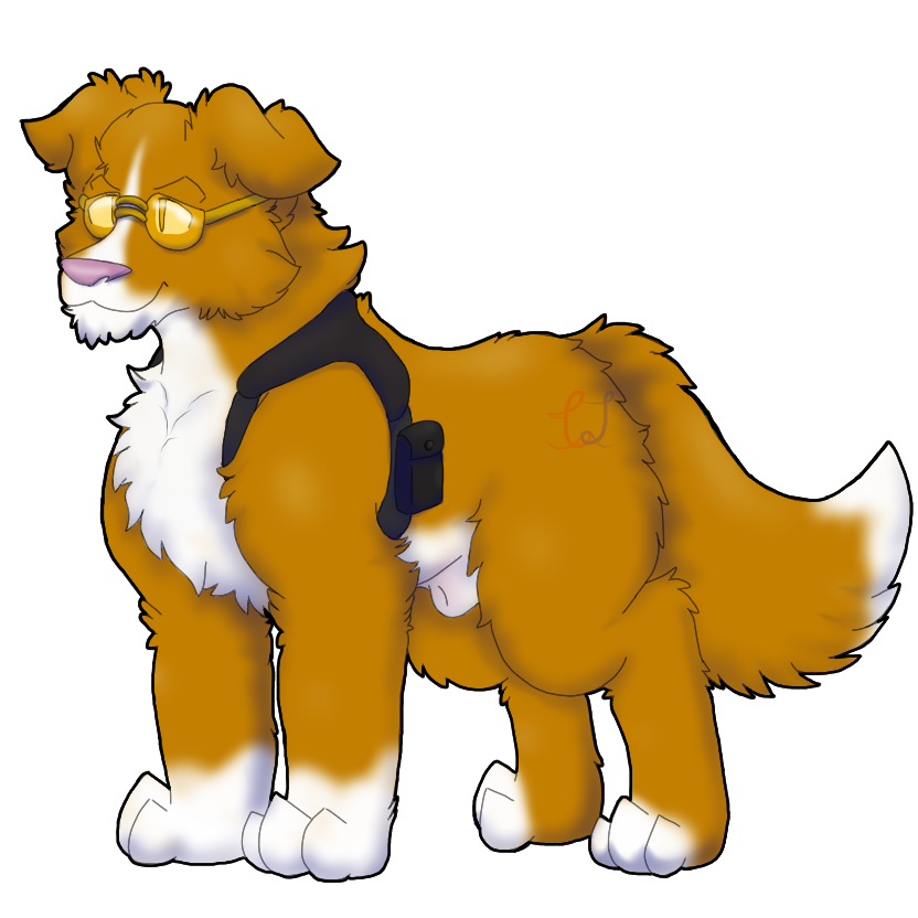 What a Bright looking Dog by Thunderjix