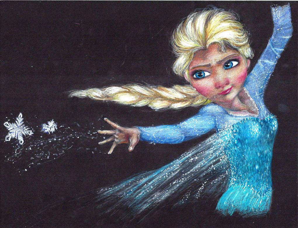 Elsa - Frozen by AnimeObsessed13