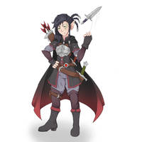 Dungeons and Dragons Character Commision by LoosCaboos