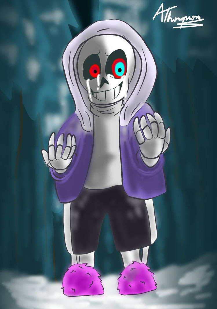 I Had to do it (Dusttale/Undertale Au) by Agustin6024 on