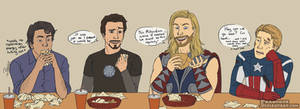 Avengers: The one about shawarma