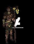 Fantasy OC: Rowen Falknor (Coloured)