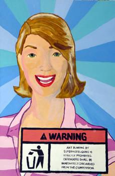 Supermodelquin Warning