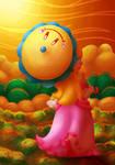 Super Princess Peach fanart
