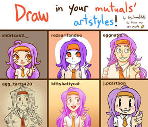 Draw in your mutual's styles 2020