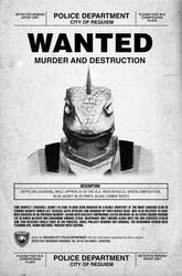 Requiem City: Wanted Poster - Maxwell by Paradox-95