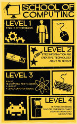 School of Computing Poster: Saul Bass by Paradox-95