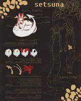 closed species guide - Setsuna by disgustingcake