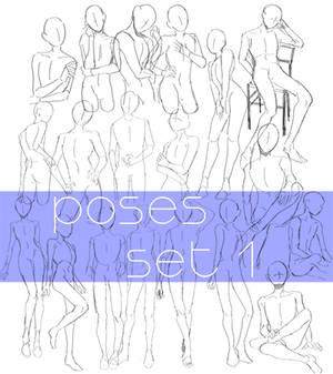 poses set (p2u)
